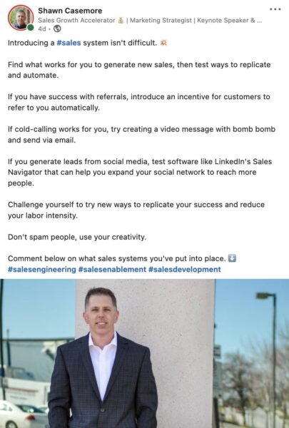 How to Sell on LinkedIn (A Simple Guide!)