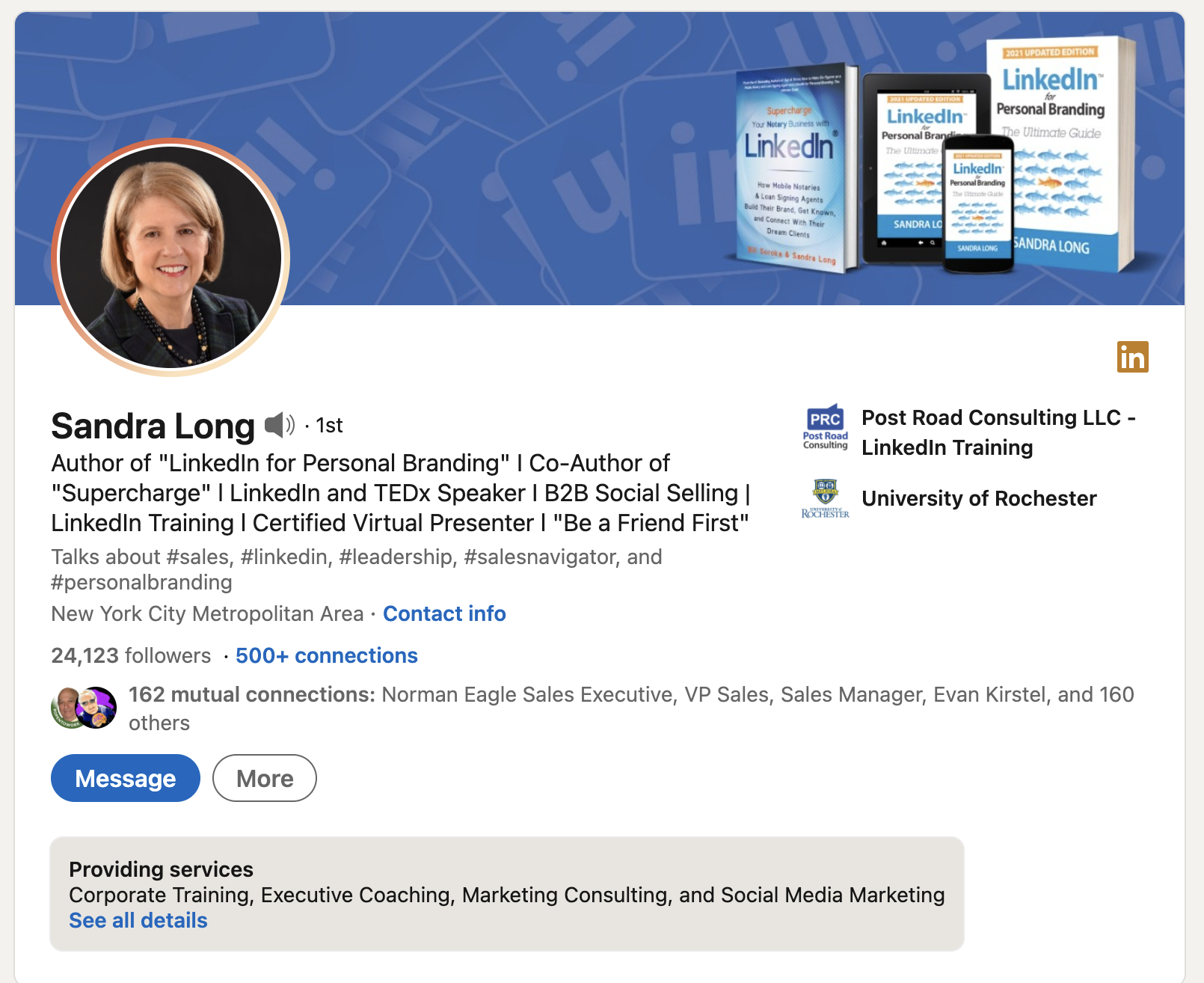 How to Craft an Outstanding LinkedIn Profile as an Older Professional