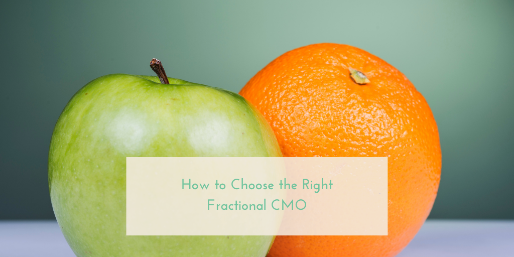 How to Choose the Right Fractional CMO