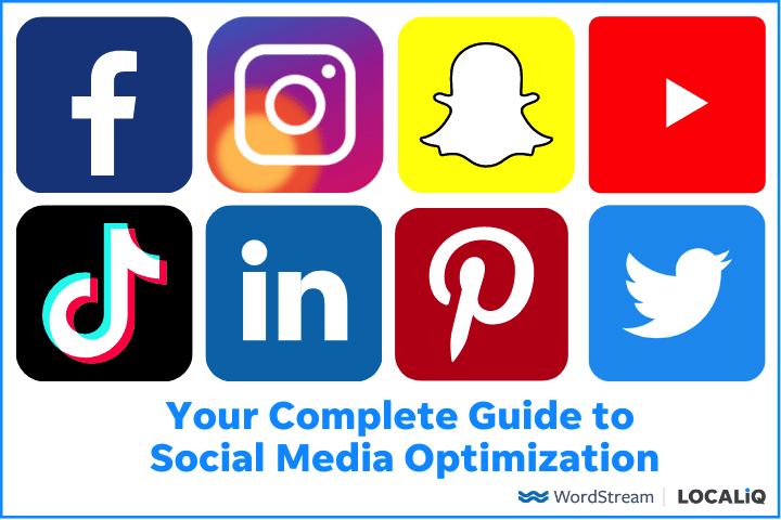 Social Media Optimization: 60+ Tips  and  Tools for Every Platform