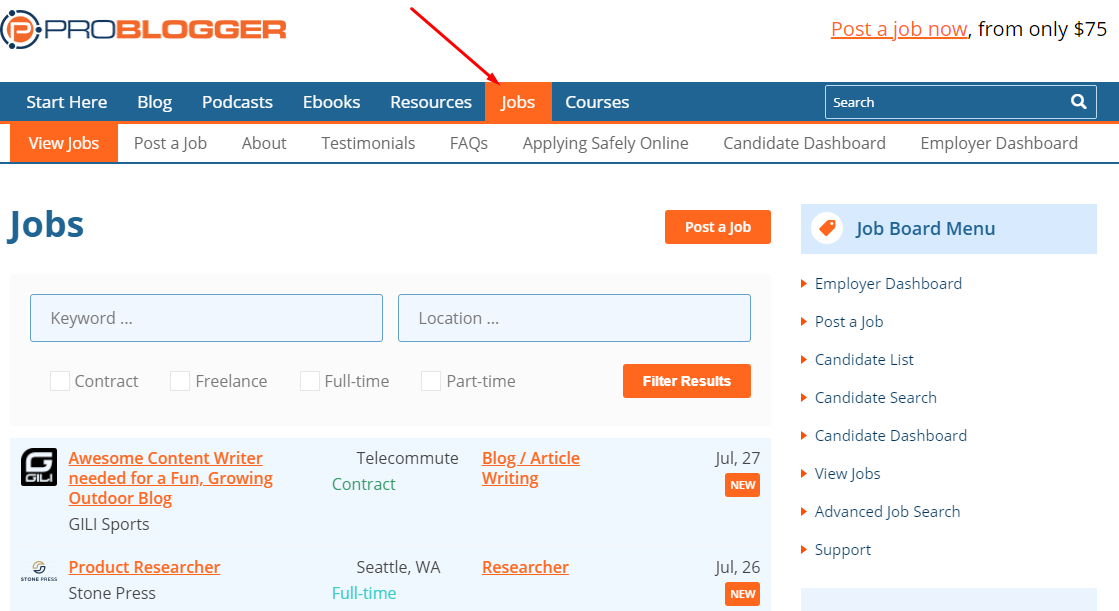 2 Excellent Ideas (With Examples) to Make Your Blog Very Busy and Profitable