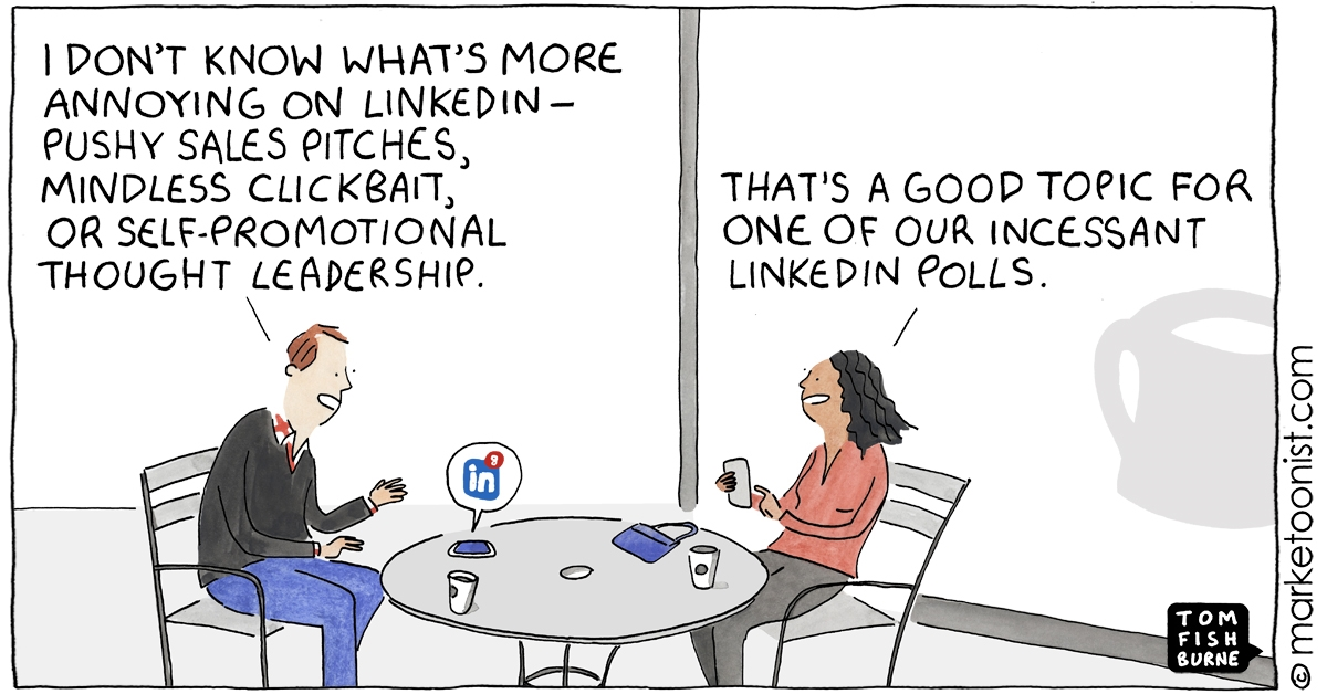 Your personal brand: Marketoon of the Week