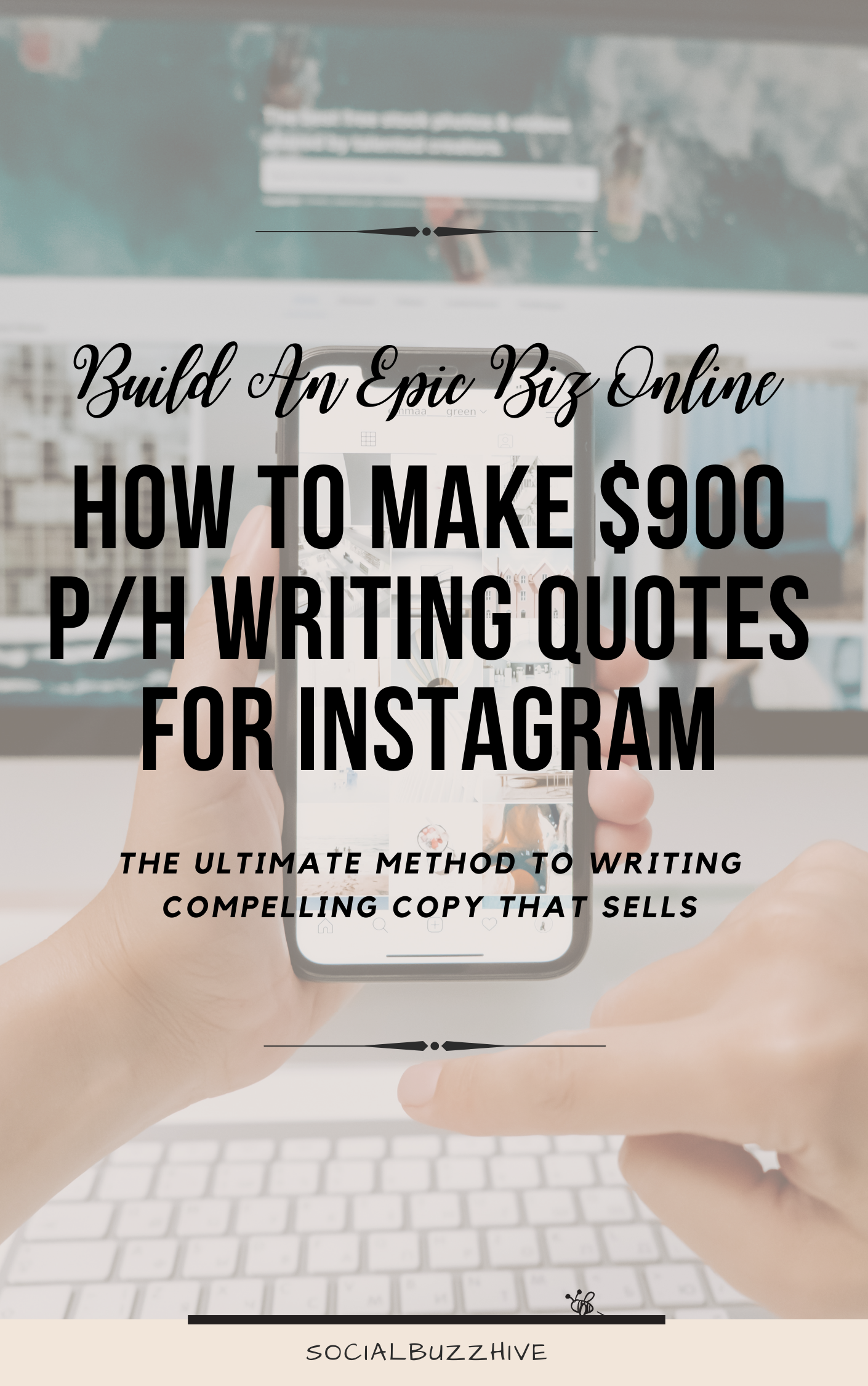 How to Make Up to $900 Per Hour Writing Quotes for Instagram
